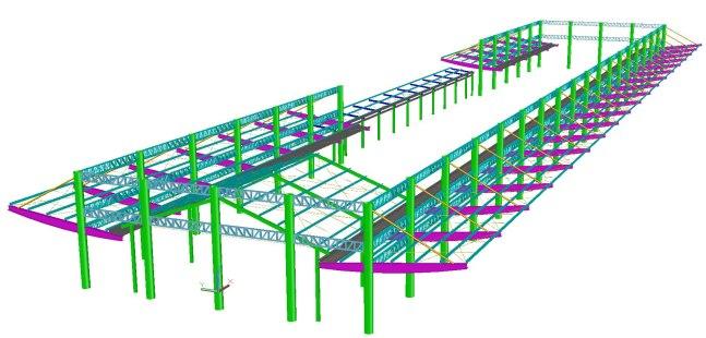 Cobertura em Estrutura Metálica do Aeroporto de Santarém