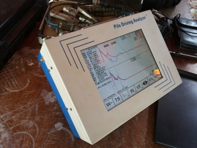 Pile Drive Analyser