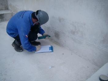 Avaliação da resistência superficial do concreto com esclerômetro