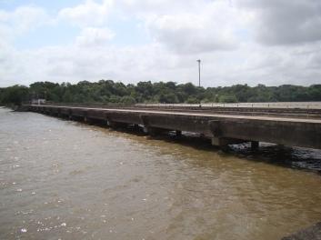 Trecho 01 da ponte de acesso
