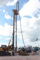 execução estaca hélice contínua monitorada