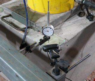 relógio comparador, com registro através de webcam