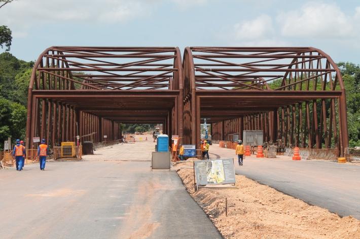 vista geral da ponte
