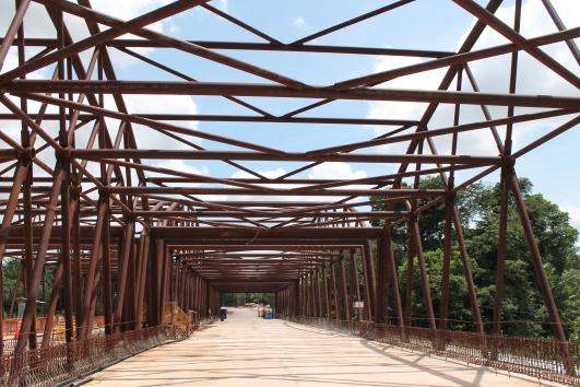 passagem pela ponte