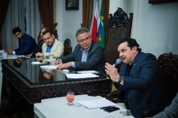 Pronunciamento do Eng. Antônio de Pádua, Secretário de Infraestrutura Hídrica do Ministério da Integração Nacional