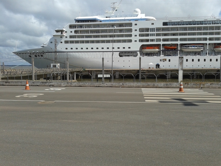 Navio de Turismo Alemão