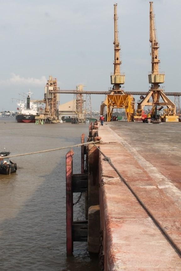 Porto da Cargil em Santarém